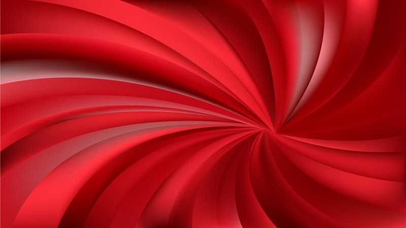 Abstract Dark Red Spiral Rays Background