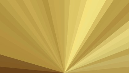 Gold Radial Background Design