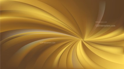 Gold Spiral Background