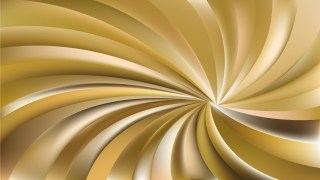 Gold Swirling Radial Background