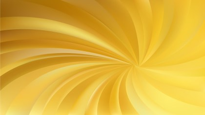 Gold Spiral Rays Background
