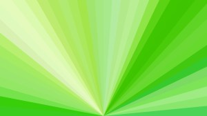 Abstract Green Radial Background Design