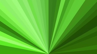 Green Burst Background