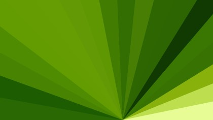 Green Radial Burst Background