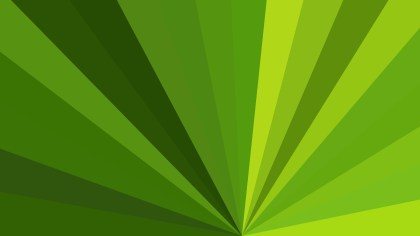 Abstract Green Rays Background Illustration