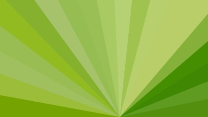 Abstract Green Radial Stripes Background