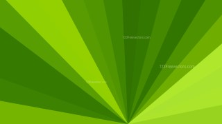 Abstract Green Radial Burst Background Image