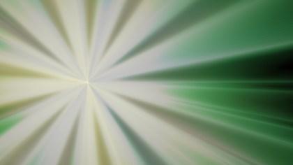 Green and Beige Radial Sunburst Background