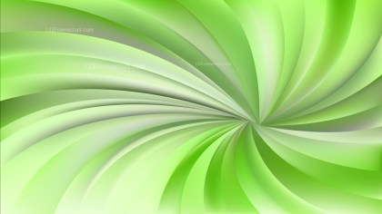 Green and Beige Twisted Spiral Rays Background