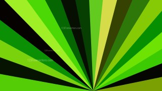 Green and Black Burst Background Graphic