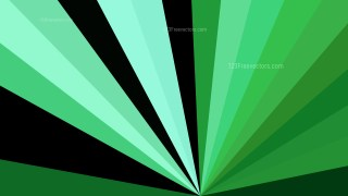 Green and Black Radial Background Design