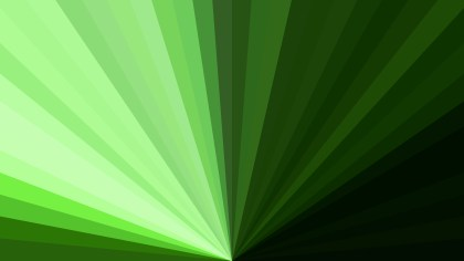 Abstract Green and Black Radial Background
