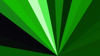 Abstract Green and Black Radial Burst Background