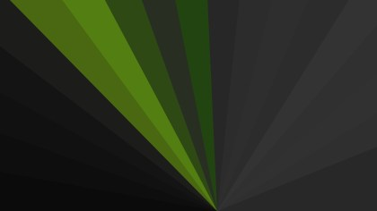 Green and Black Burst Background