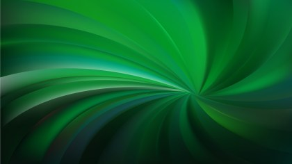 Green and Black Radial Spiral Rays background Design