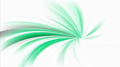 Abstract Green and White Radial Spiral Rays background Graphic