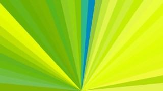 Green and Yellow Radial Stripes Background