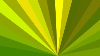 Green and Yellow Rays Background Illustration