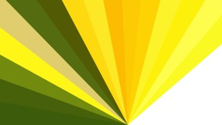 Abstract Green Yellow and White Burst Background