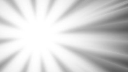Grey and White Sunburst Background