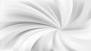 Grey and White Swirling Radial Background