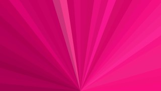 Abstract Hot Pink Radial Background
