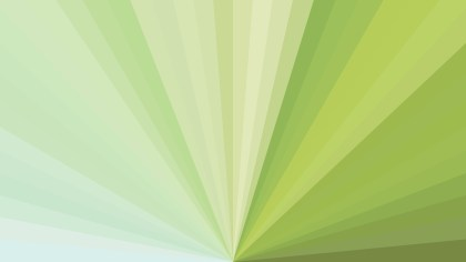 Abstract Light Green Rays Background Illustration