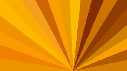 Radial Sunburst Background