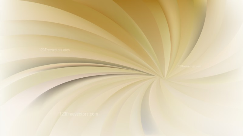 Abstract Orange Spiral Rays Background