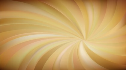 Orange Swirling Radial Background Vector Graphic