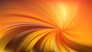 Abstract Orange Spiral Rays Background Vector Art