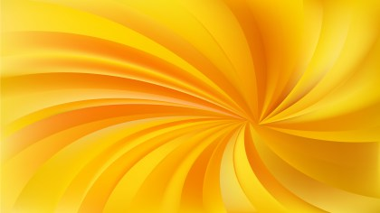 Orange Swirling Radial Vortex Background