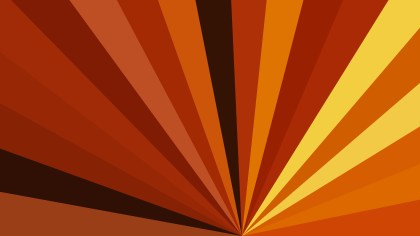 Abstract Orange and Black Radial Burst Background