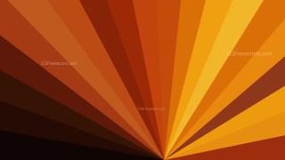 Abstract Orange and Black Radial Burst Background Image