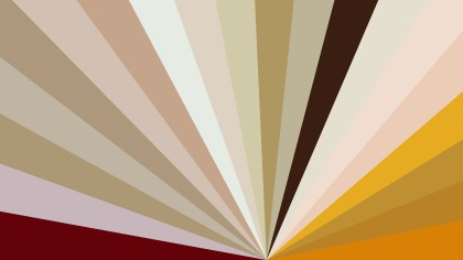 Orange and Brown Radial Stripes Background