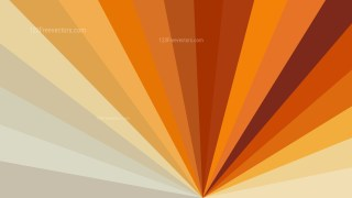 Orange and Brown Radial Background