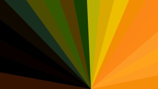Orange and Green Radial Burst Background