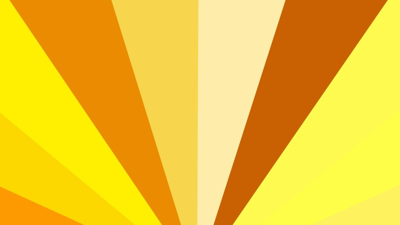 Orange and Yellow Rays Background Illustration