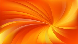 Abstract Orange and Yellow Radial Spiral Rays background Graphic