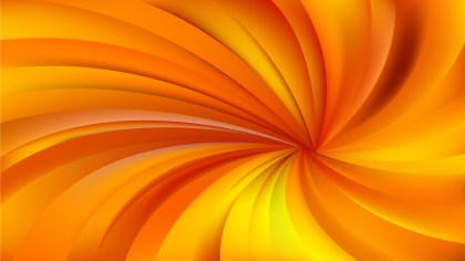 Orange and Yellow Spiral Rays Background