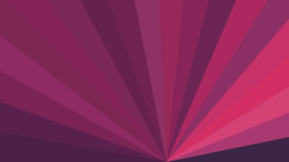 Pink Radial Stripes Background