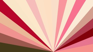Pink and Beige Radial Background Design