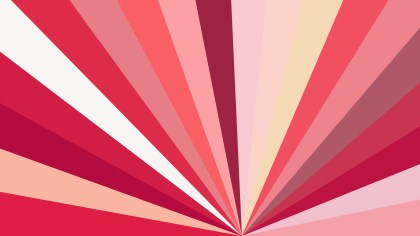 Pink and Beige Rays Background Illustration
