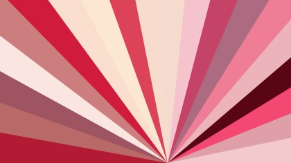 Abstract Pink and Beige Radial Burst Background