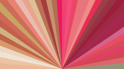 Pink and Brown Radial Burst Background