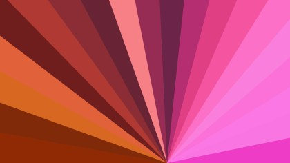 Abstract Pink and Brown Radial Stripes Background