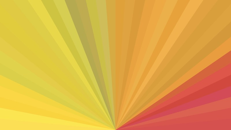 Abstract Pink and Orange Radial Background Design