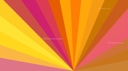 Pink and Orange Radial Burst Background Image