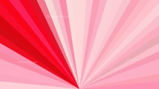 Pink and Red Radial Background