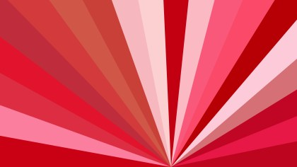 Pink and Red Radial Burst Background